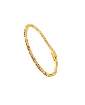 Armband Elisabeth gelbgold champagner weiß