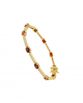 Armband  in rot Jane