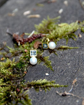 Perlen Ohrstecker Eleonore