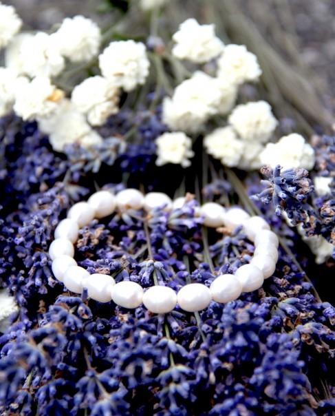 Biwa-Perlenarmband Carolin