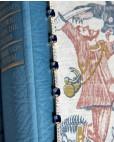 Armband Jane gelbgold saphir blau weiß