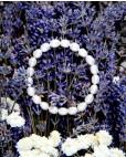 Biwa-Perlenarmband Carolin liegend