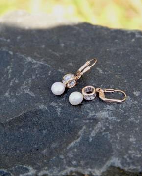 Perlen Ohrring Letizia