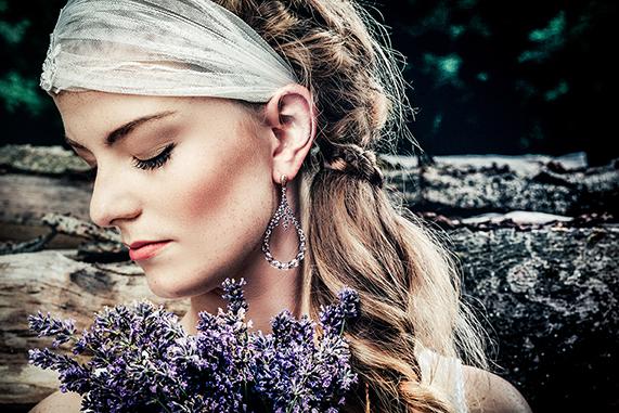 Braut Ohrringe Ayse